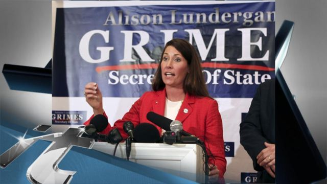 News video: Politics Breaking News: Ashley Judd Backs Grimes for Senate